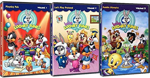 Baby Looney Tunes: TV Series Volumes 1-3 Complete 3 DVD Collection