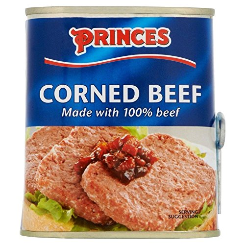 Princes Corned Beef (340g) - Packung mit 2