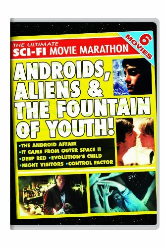 The Ultimate Sci-Fi Movie Marathon: The Android Affair / It Came From Outer Space II / Deep Red / Evolution's Child / Night Visitors / Control Factor by Elizabeth Pena