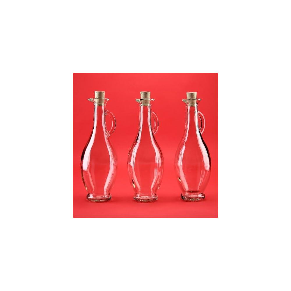 4 Leere Glasflaschen 500 Ml Egi Karaffen Mit Ausgiesser Glaskaraffe Flaschen Essigl Set Spender 05 Liter Essigflaschen Lflaschen Von Slkfactory