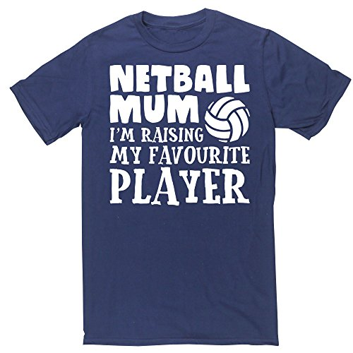 hippowarehouse-netball-mum-im-raising-my-favourite-player-unisex-short-sleeve-t-shirt
