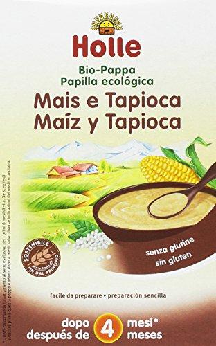 Holle Papilla Maíz Tapioca +4 meses SIN GLUTEN -