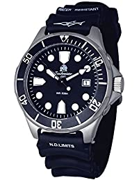 Tauchmeister - Reloj sumergible alemán, nuevo modelo T0279, sumergible a 500 m