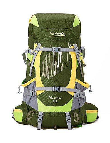 ZQ 60L L Tourenrucksäcke/Rucksack / Wandern Tagesrucksäcke Camping & Wandern / Klettern / Legere Sport / Reisen Outdoor / Legere Sport Blue