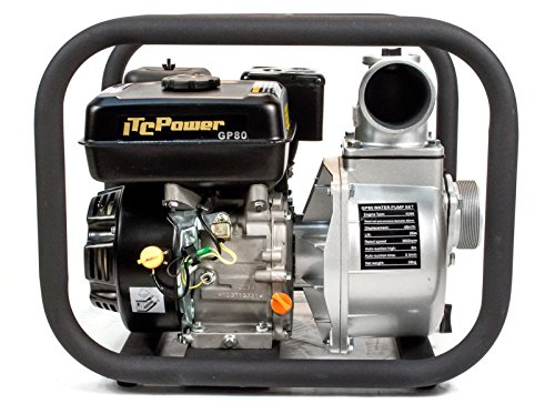 ITCPower GP80 - Motobomba de gasolina caudal