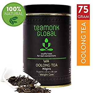 Teamonk-Nilgiri-Oolong-Tea-75g-38-Cups-100-Natural-Loose-Leaf-Tea-Wa-Oolong-Tea-for-Weight-Loss-Whole-Leaf-Tea-No-Additives