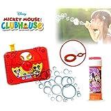 Set infantil juguetes (cámara de fotos con pistola de pompas)diferentes motivos - Mickey y Minnie Mouse