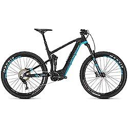 Bicicleta eléctrica Focus Jam² Plus 27.5R Shimano Steps 2018, color Magicblack matt/Maliblue, tamaño 47, tamaño de rueda 27.50