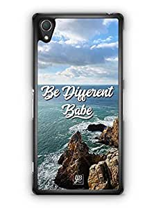 YuBingo Be Different Babe Designer Mobile Case Back Cover for Sony Xperia Z2