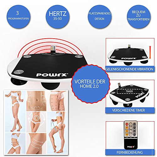 Vibrationsplatte Home / Pro 2.0 inkl. Android App Vibration Plate Shape Trainer (Home 2.0)