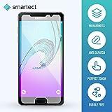 smartect Samsung Galaxy A5 2016 Panzerglas Folie - Displayschutz mit 9H Härte - Blasenfreie Schutzfolie - Anti Fingerprint Panzerglasfolie