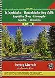 Freytag Berndt Autoatlanten, Tschechische Republik - Slowakische Republik - Maßstab 1:150 000 - Freytag-Berndt und Artaria KG