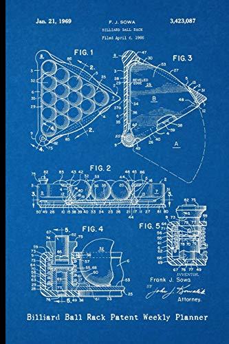 Billiard Ball Rack Patent Weekly Planner