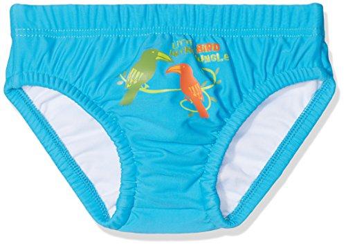 DIMO-TEX Sun Baby-Jungen Schwimmwindel Windelbadehose UV-Schutz 50, Mehrfarbig (Türkis), 68 (Herstellergröße: 62/68)