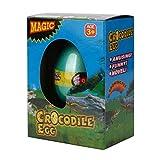 Xshuai 6 * 4,5 cm Big Magic Schlüpfen Dinosaurier Hinzufügen Wasserzucht Dino Eier Aufblasbare Kid Weihnachten Spielzeug Für Kid wissenschaftliche Praxis (G)