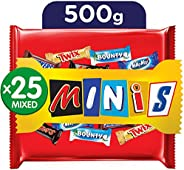 Best Of Minis Chocolate Bag, 500g