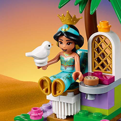 LEGO 41161 Disney Princess Aladdin and Jasmine Palace Adventures Toy Set with Mini Dolls