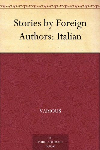 Stories by Foreign Authors: Italian book cover