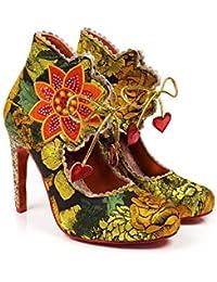 Poetic Licence by Irregular Choice Autumn Bloom, Zapatos de tacón con Punta Cerrada para Mujer