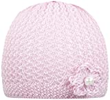 Döll Baby-Mädchen Mütze Topfmütze Strick, Rosa (Pink 2720), 49