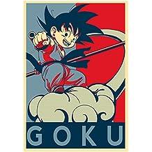 "Poster Dragon Ball ""Propaganda"" Goku (variant) - A3 (42x30 cm)"