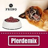 Frostfutter Nordloh Pferdemix 20 x 500 g Alleinfuttermittel - Fertigbarf für Allergiker Hunde