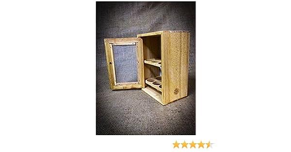 Credenza Con Retina : The emporium home mobiletto portauova in legno con scomparti