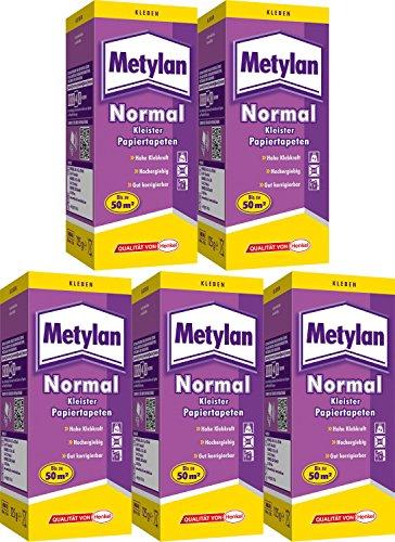 Tapetenkleister Metylan® normal, 5 Pck, bis zu 250qm