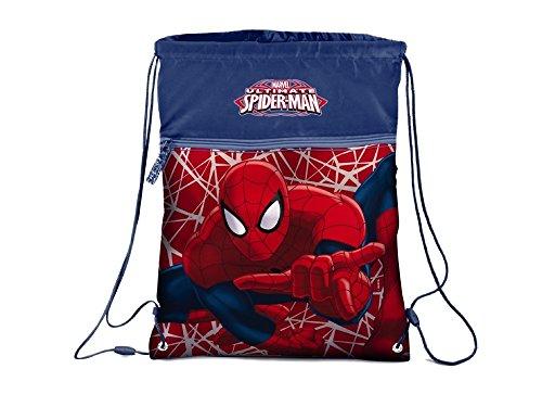 marvel-ultimate-spider-man-sportbeutel-turnbeutel-34cm-spiderman