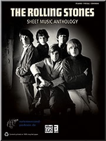 The Rolling Stones - Sheet Music Anthology - Noten Songbook [Musiknoten] (Sympathy Note)