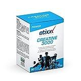 Etixx - CREATINE 3000 | mit Creatin Monohydrat | Diese tabletten unterstützen eine zusätzliche Muskelentwicklung für eine optimale Leistung | 90 Tabletten