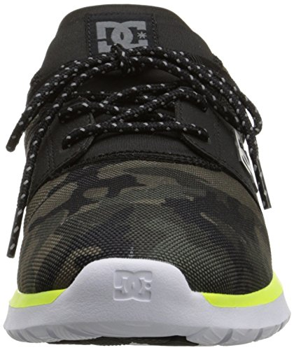 DC - - Uomo-heathrow SE scarpa camouflage noir