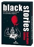 moses. 109679 Black Stories Dark Night Edition | 50 rabenschwarze Rätsel für schlaflose Nächte | Das Krimi Kartenspiel, bunt