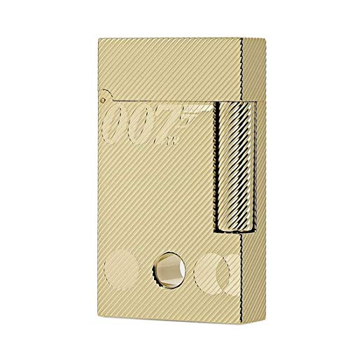 S.T. Dupont Ligne 2 James Bond 007 yllow Gold Feuerzeug Sammelbox