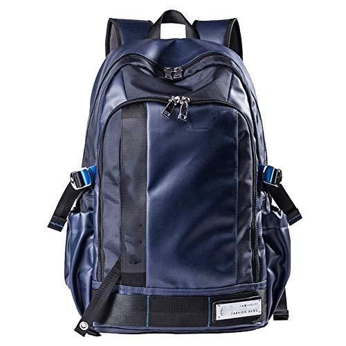 YHEB Laptop-Rucksack - Großraum-Herrenrucksack College-Laptop-Rucksack Diebstahlsicherer, wasserdichter Freizeitrucksack für Jungen und Mädchen-blue