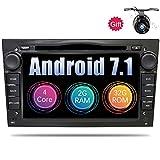7 Zoll 1024x600 Quad Core Android 6.0 Auto Stereo Radio für Opel Vauxhall Astra H Corsa D Vectra C Aatara Hauptgerät Unterstützung DVD GPS Navigation AUX WiFi Rückfahrkamera ScreenMirror OBD2 DAB +