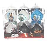 Star Wars sdtsdt89743–Set Boules de Noël, Blanc