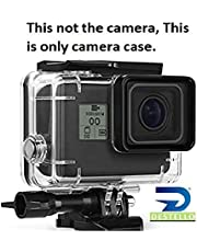 DESTELLO® Go Pro Underwater Housing Waterproof Case Diving Protective Shell Accessories Cover with Bracket for GoPro Hero 7 Black for 2018 Model ONLY Hero 6, Hero 5 Action Camera