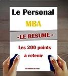 Le Personal MBA de Josh Kaufman : Le...