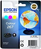 Epson T267 (C13T26704010)Tintenpatrone Globus, Multipack 3-farbig(cyan/magenta/gelb)
