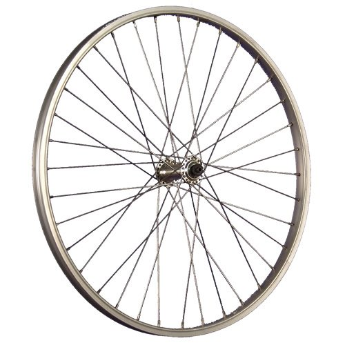 Taylor-Wheels 24 Zoll Vorderrad Shimano Acera - silber (24 Laufrad)