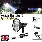 100W 22,9cm caccia Spotlight palmare HID Xenon lampada di guida per pesca campeggio ricerca luce 6000K luce 2,4km distanza