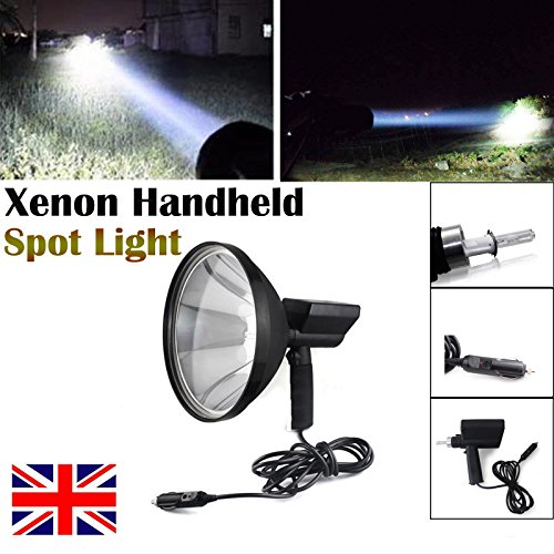 100W 22,9cm Jagd Spot Handheld HID Xenon Driving Lampe für Angeln Camping Suche Licht 6000K 1,5Mile Leuchtweite