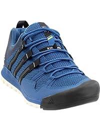 reputable site c8fc8 db13d Adidas all aperto Terrex Solo Avvicinamento Scarpa Nera Vista Grigio Gesso  Bianco 6