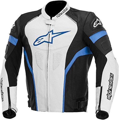 Giacca in pelle da moto con protezioni Alpinestars GP Plus R Leather Jacket