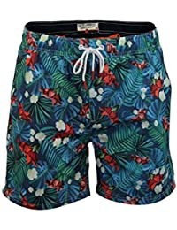 Mens Tokyo Laundry Anzio Swim Trunks Beach Elasticated Waist Surf Board Shorts