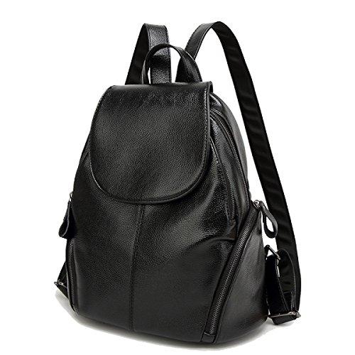 Damen Umhängetasche Klassisch Kreativ Student Im Freien Freizeit College Wind Jugend Wild Bag Black