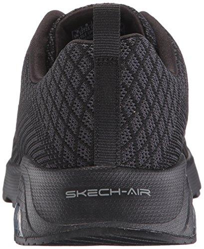 Skechers Skech-air Varsity- Awaken, Sneakers basses femme Noir