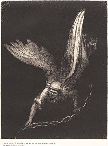 The Museum Outlet apos;ai Rencontré un ange Come Down à partir de Heaven, avoir la clé du sans fond Pit et d'une grande Chaîne dans sa main, 1899–Poster (Medium)