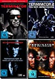 TERMINATOR 1 2 3 4 Full Uncut QUADRILOGY 4 DVD Collection -